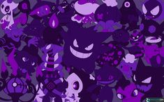 Every Ghost Pokemon Wallpaper! by LVStarlitSky