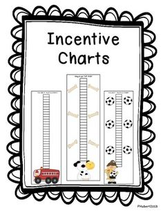 Incentive Charts {FREE for 24 HOURS!!} - Please leave feedback if you like it! Tired of dealing with stickers and punches? Then these are the incentive charts for you! All you need is a crayon, the chart and an awesome student and you're all set!