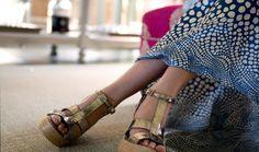 GAIMO Espadrilles High Wedge Platform Sandal | SPANISH SHOP ONLINE | Spanish Fashion #Spanish #shoes