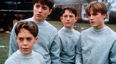 boys will be boys. the young cast of sleepers (1996 ...