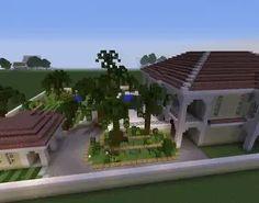 Mansion garden