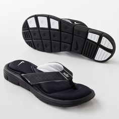 Nike Comfort Flip-Flops - Women ($28) ❤ liked on Polyvore