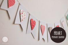 Heart Pendant Banner