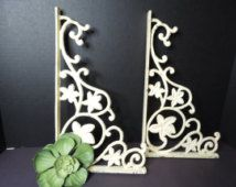 Ornate Metal Shelf Brackets Hardware Rod Iron Corner Brackets Shelf Brackets