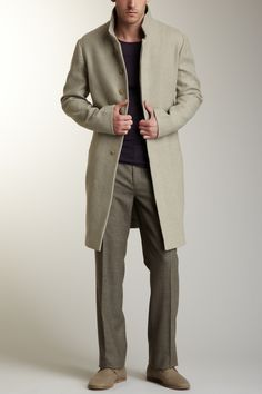 John Varvatos Collection Slim Coat on HauteLook