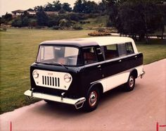 The old Jeep FC with a van body. Only three made.