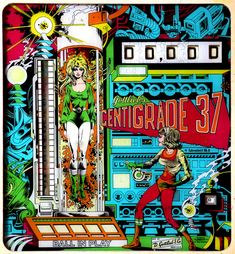 50 Gorgeous Examples of Pinball Machine Art Across Seven Decades