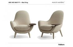 Mad King Chairs by Marcel Wanders for Poliform