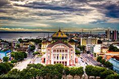 Teatro Amazonas - Manaus - Brasil.