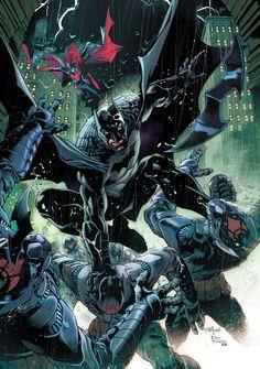 DC REBIRTH - BATMAN Family Creative Teams   Newsarama.com