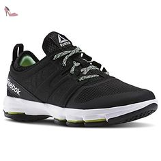 Work N Cushion 2.0, Chaussures de Fitness Homme, V70619_39 EU_White/Flat Grey, 40.5 EUReebok