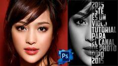 Tutotiales Photoshop CS6: Como Hacer Un Efecto De Cartel Texto - Retrato...