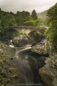 Old Stone Bridge at Invermoriston, Scotland