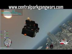 GTA IV: Multiplayer - Central Park GANG Wars - Funny vehicle mods