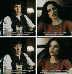 Peaky Blinders Thomas and Ada Shelby