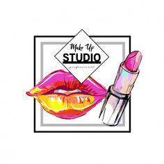 Premium Vector Make-me-up Makeup Studio Logo Design Vorlage. Studio Logo, Ideas Para Logos, Make Up Studio, Christmas Ad, Good Day Song, Logo Design Template, Vector Design, Photo Search, Video Games For Kids