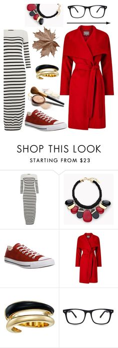 """""""Red&Stripes."""" by gatocat ❤ liked on Polyvore featuring Polo Ralph Lauren, Chico's, CO, Converse, Phase Eight and Michael Kors"""