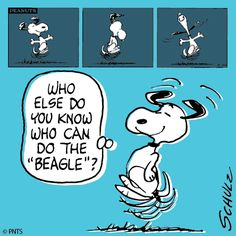 "Do The ""Beagle"" also known as ""Snoopy Happy Dance"" Snoopy Happy Dance, Snoopy Love, Snoopy And Woodstock, Peanuts Cartoon, Peanuts Snoopy, Peanuts Comics, Snoopy Cartoon, Cartoon Pics, Charles Shultz"