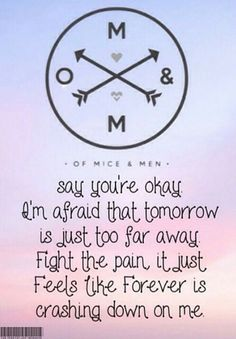 Quotes From Of Mice And Men Of Mice And Men Lyrics  Google Search  Run Away With Music .