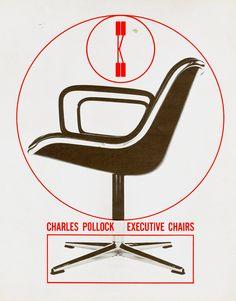 Charles Pollock executive chair (1965)