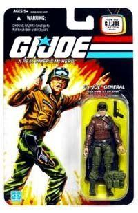 """G.I. JOE Hasbro 3 3/4"""" Wave 9 Action Figure General Hawk by Hasbro. $16.95. G.I. JOE HAWK was the original field commander of the G.I. JOE team before he got his General?s star and was booted upstairs to honcho the entire G.I. JOE operation. He?s a West Point graduate and has a list of special education credits as long as his arm, but he still managed to get the main body of his experience out there where it counts ? on the battlefield. Add to your GI JOE collection with this..."""