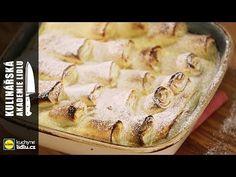 Zapečené palačinky s tvarohem - Roman Paulus - Kulinářská Akademie Lidlu - YouTube Czech Recipes, Lidl, Main Meals, Camembert Cheese, Roman, Food And Drink, Sweet, Youtube, Pizza