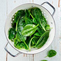 Lebensmittel mit viel Folsäure: Spinat