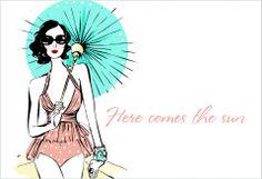 Lady Lulu's gals in the summer - Megan Hess