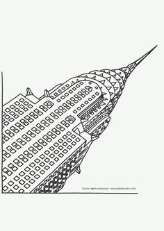 Free coloring page «coloring-adult-new-york-pont-brooklyn