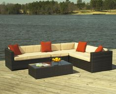 South Hampton Outdoor Wicker Sectional with Coffee Table by Wicker Paradise, http://www.amazon.com/dp/B006VDX0W0/ref=cm_sw_r_pi_dp_caarqb1SY8Y3B