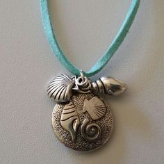 "Shells Necklace $8  To place an order, visit our Facebook page ""Moonsong Jewellery"" or email moonsongjewellery@gmail.com"