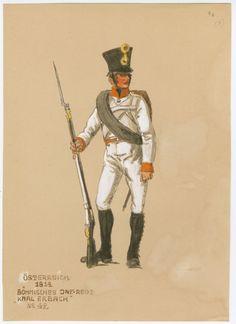 Austria; Line Infantry Regt. No.42 Karl Erbach 1814