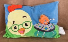 Chicken Little Disney Store 3D pocket pillow space ship alien vintage 12 x 17""