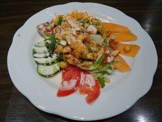 Chefsalat mit Lachs