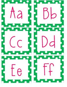 Custom made word wall letters for your classroom!...