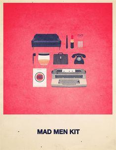 Culture pop et affiches de films minimalistes par Alizée Laf Photo