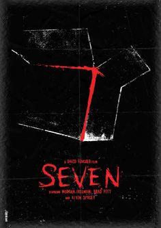 Film posters by Dan Norris. Seven