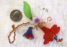 Copper Wire Flowers 14 detailed and handmade by MollyRobertsArt. https://www.etsy.com/listing/209227978/copper-wire-flowers-14-detailed-and?ref=shop_home_active_1