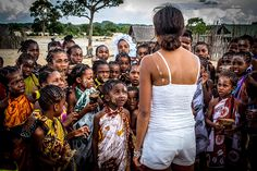 The Relais & Châteaux properties in South Africa, Zambia, Botswana and Kenya are dedicated to supporting underprivileged schools in nearby communities. Kenya, Backless, Africa, Take That, Education, Dresses, Fashion, Vestidos, Moda