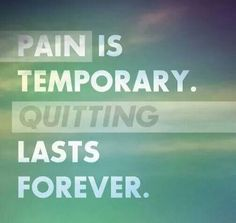 Quitting lasts forever