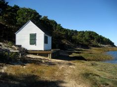 Boathouse on the Pamet River, Truro, MA.  3Harbors Realty