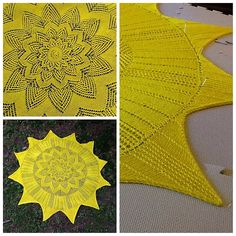 My Good Day Sunshine---- Knit August 2013----- Ra and Apep pattern by Anna Dalvi