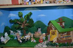 Sylvanian Families Watermill Bakery diorama