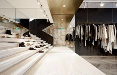 Damir Doma Store in Paris by March Studio