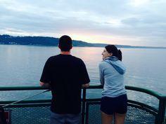 Seattle to Edmonds Ferry