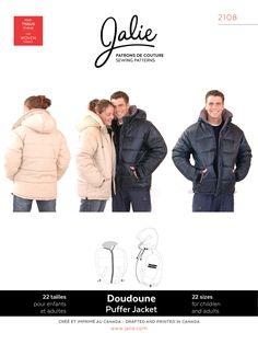 Jalie 2108 - Puffer Jacket Pattern