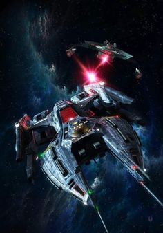 The Icarus from fanmovie Star Trek: Renegades. Like Star Trek Discovery it was a little darker than what we were used to. But with a LOT smaller budget it is amazing how it does so much better in evoking a real Star Trek feel, creating viewer empathy for its characters, and make sense in the known Star Trek universe (continuity).
