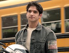 Scott McCall's new look this season is definitely working for him!