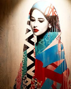 """@justina_159 on Instagram: """"💙 La divinité féminine ❤ Artwork by @hushartist  Foire d'urban art @district13artfair à  @drouot_paris du 22 au 29 septembre 2019 • • •…"""" Female Portrait, Portrait Art, Portraits, Drouot, Creative Illustration, Boat, Urban, Illustrations, Artists"""