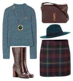 """""""Color of Fashion: Your Fall Palette"""" by beautifulnoice on Polyvore featuring Acne Studios, Polo Ralph Lauren, Yves Saint Laurent, Calvin Klein Collection, Miss Selfridge and Evelyn Knight"""